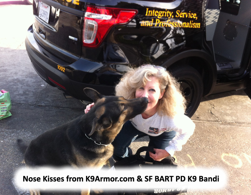 We need donations to protect two BART Police K9 Heroes