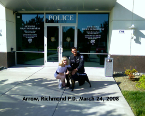 Open big picture of Arrow, Richmond PD