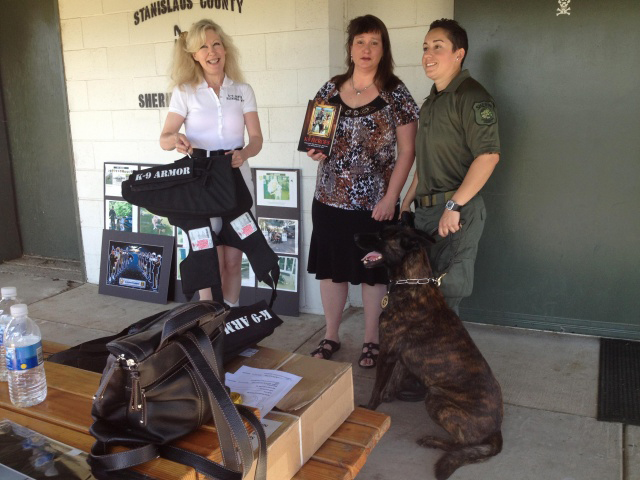 Click to read KCRA video and article K9 Armor for Stanislaus County Sheriff K9 Sam